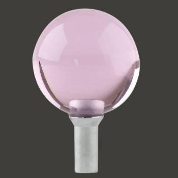Bathroom Faucet Part Pink Glass Ball Knob 1 Handle Screw Bathroom Faucet Part Faucet Part Faucet Parts