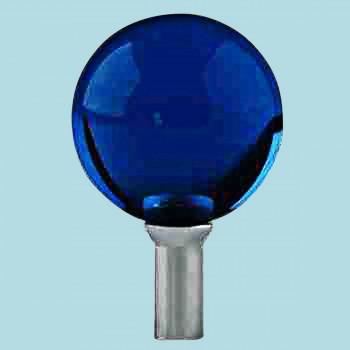 <PRE>Bathroom Faucet Part Dark Blue Glass Ball Knob Replacement </PRE>zoom2