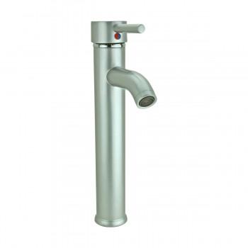 <PRE>Satin Nickel Single Hole Bathroom Sink Faucet 12inch H </PRE>zoom4