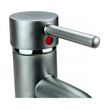 <PRE>Satin Nickel Single Hole Bathroom Sink Faucet 9.5inch H </PRE>zoom6