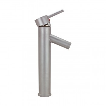 <PRE>Single Lever Faucet Brass Body with Satin Nickel Finish 11.75in. H </PRE>zoom5