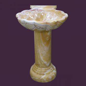 Stone Sinks - Hand Carved Onyx Sink by the Renovator's Supply