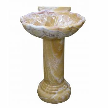 Pedestal Bronze Onyx Hand Carved Onyx Pedestal Sink13980grid