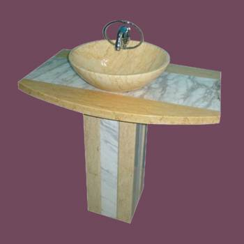 Stone Sinks - Hand Carved Marble Sink by the Renovator's Supply