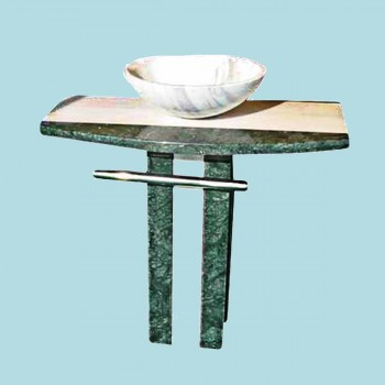 <PRE>Colored Pedestal Sink Marble Multi Colored Marble Hand Carved </PRE>zoom2