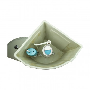 <PRE>Toilet Biscuit China Sheffield Deluxe Corner Tank Only </PRE>zoom10