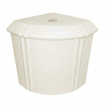 Toilet Bone China Sheffield Deluxe Corner Tank Only 14167grid