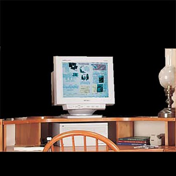 <PRE>Office Corner Shelf Heirloom Pine Computer Monitor Shelf </PRE>zoom3