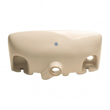 <PRE>Small Wall Mount Vessel Sink Grade A Vitreous China Scratch and Stain Resistant</PRE>zoom5