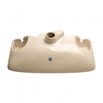<PRE>Small Wall Mount Vessel Sink Grade A Vitreous China Scratch and Stain Resistant</PRE>zoom6