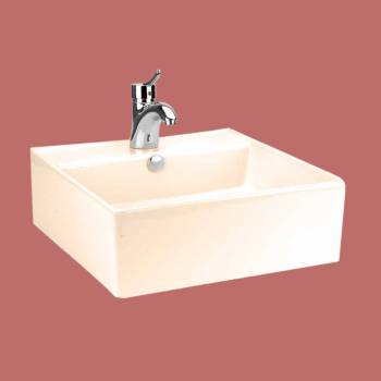 <PRE>Above Counter Bathroom Vessel Square Bone China </PRE>zoom2