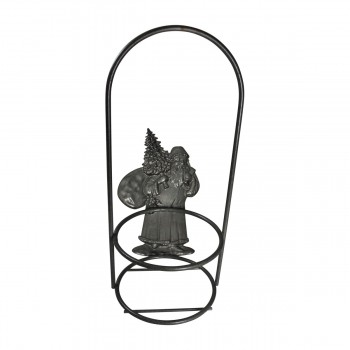 <PRE>Candle Holder Grey Wrought Iron 10.5inchH x 4.5&quot;D </PRE>zoom5