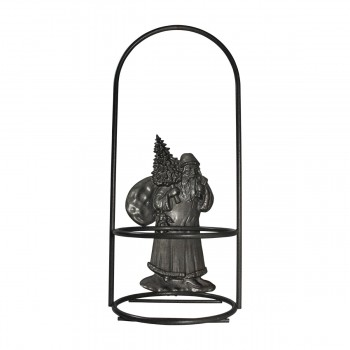 <PRE>Candle Holder Grey Wrought Iron 10.5inchH x 4.5&quot;D </PRE>zoom8