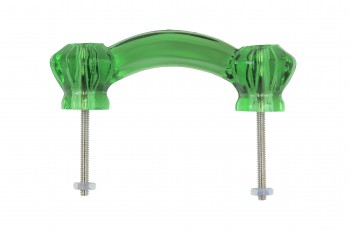 <PRE>Drawer Pull Cabinet Handle Emerald Glass 3inch </PRE>zoom3