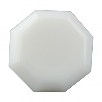 <PRE>Cabinet Knob Milk Glass 1inch Dia W/ Brass Back </PRE>zoom3