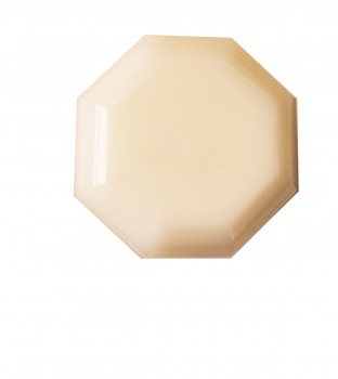 <PRE>Cabinet Knob Milk Glass 1 1/4inch Dia W/ Brass Back </PRE>zoom3