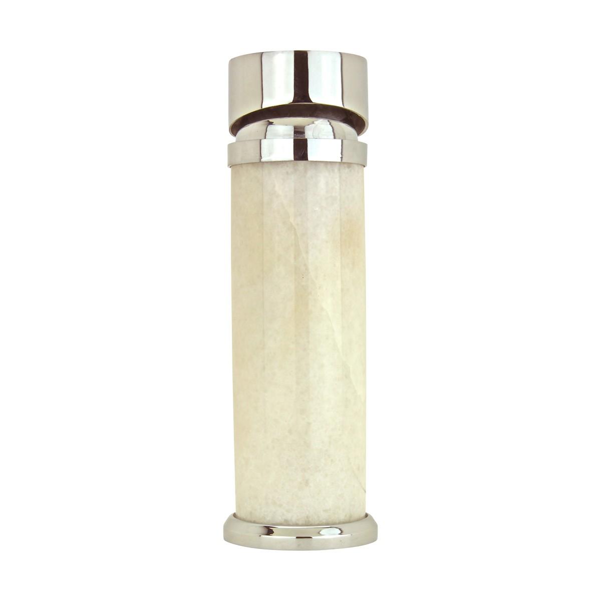 Alabaster Marble Chrome Bathroom Faucet Single Hole 1 Handle Faucets Bathroom Faucets Single Hole Faucet