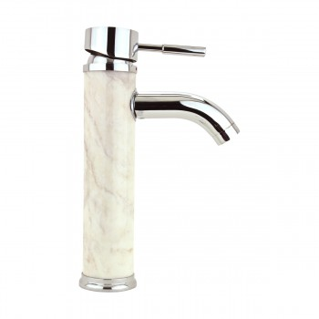 <PRE>Bathroom White Marble Faucet Chrome Single Hole 1 Handle </PRE>zoom4