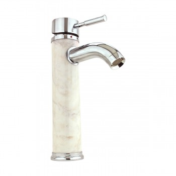 <PRE>Bathroom White Marble Faucet Chrome Single Hole 1 Handle </PRE>zoom13