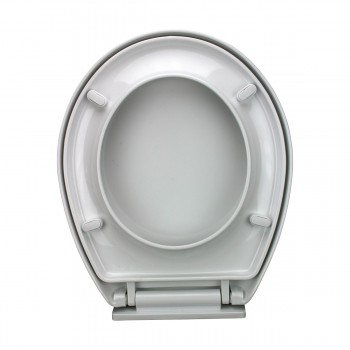 <PRE>Slow EZ Close No Slam Plastic Round Toilet Seat White</PRE>zoom13