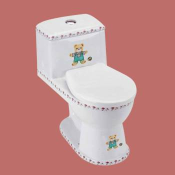 <PRE>Kids Toilet Children Bathroom Loo Potty Training Bear </PRE>