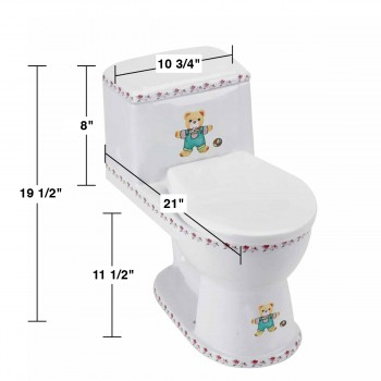 spec-<PRE>Kids Toilet Children Bathroom Loo Potty Training Bear </PRE>