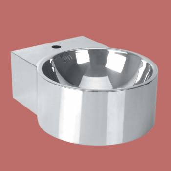 Fountain Vessel Sink Wall mount Double Layer Stainless Steel - Vessel Sinks by Renovator's Supply.