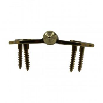 <PRE>Solid Brass Cabinet Hinge Vintage Steeple Tip 7/16H X 2W </PRE>zoom7