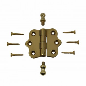 <PRE>Cabinet Hinges Brass Ball Finial Cabinet Hinge 1 7/16 H X 2 W</PRE>zoom3