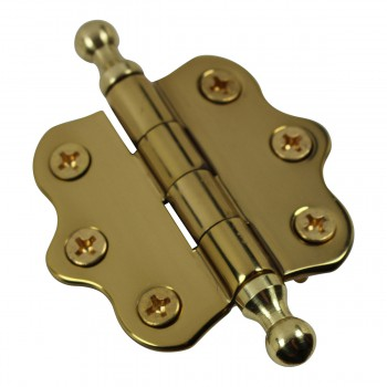 <PRE>Cabinet Hinges Brass Ball Finial Cabinet Hinge 1 7/16 H X 2 W</PRE>zoom7