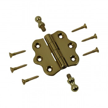 <PRE>Cabinet Hinges Brass Ball Finial Cabinet Hinge 1 7/16 H X 2 W</PRE>zoom9