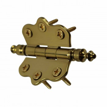 <PRE>Solid Brass Cabinet Hinge Vintage Urn Tip 7/16H X 2W </PRE>zoom5