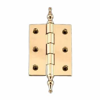 Cabinet Hinge Solid Brass Temple Tip 2
