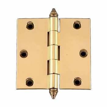 Door Cabinet Hinge 3 x 3 Square Solid Brass Decor Tip brass extruded door hinge square door hinge solid brass hinge