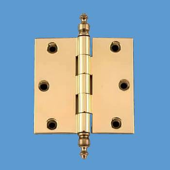 <PRE>3 in Cabinet Hinge Door Hinge Square Solid Brass Urn Finial</PRE>zoom2