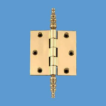 Solid Brass Door or Cabinet Hinge Steeple 3 12 Door Hinges Door Hinge Solid Brass Hinge