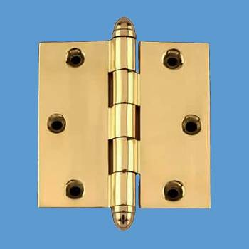 Door Hinges - 3.5inx3.5in Square by the Renovator's Supply