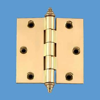 <PRE>Solid Brass Door or Cabinet Hinge Decor Tip 3 1/2inch </PRE>zoom2
