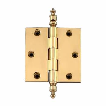 <PRE>Solid Brass Door or Cabinet Hinge Urn Tip 3 1/2inch </PRE>zoom1