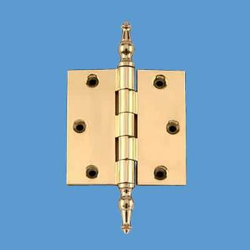 <PRE>Solid Brass Door or Cabinet Hinge Temple Tip 3 1/2inch </PRE>zoom2