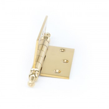 <PRE>Solid Brass Door or Cabinet Hinge Temple Tip 3 1/2inch </PRE>zoom3