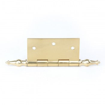 <PRE>Solid Brass Door or Cabinet Hinge Temple Tip 3 1/2inch </PRE>zoom4