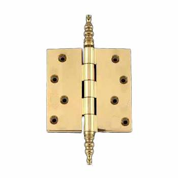 <PRE>Solid Brass Door or Cabinet Hinge Steeple 4inch </PRE>zoom1