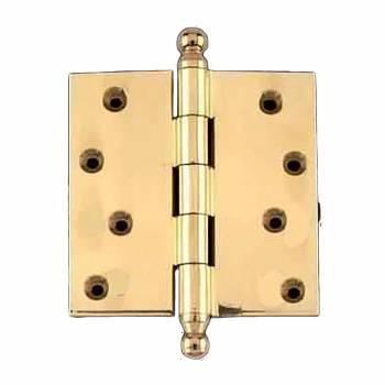 Solid Brass Door or Cabinet Hinge Ball Tip 4