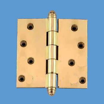 <PRE>Solid Brass Door or Cabinet Hinge Helmet Tip 4&quot; </PRE>