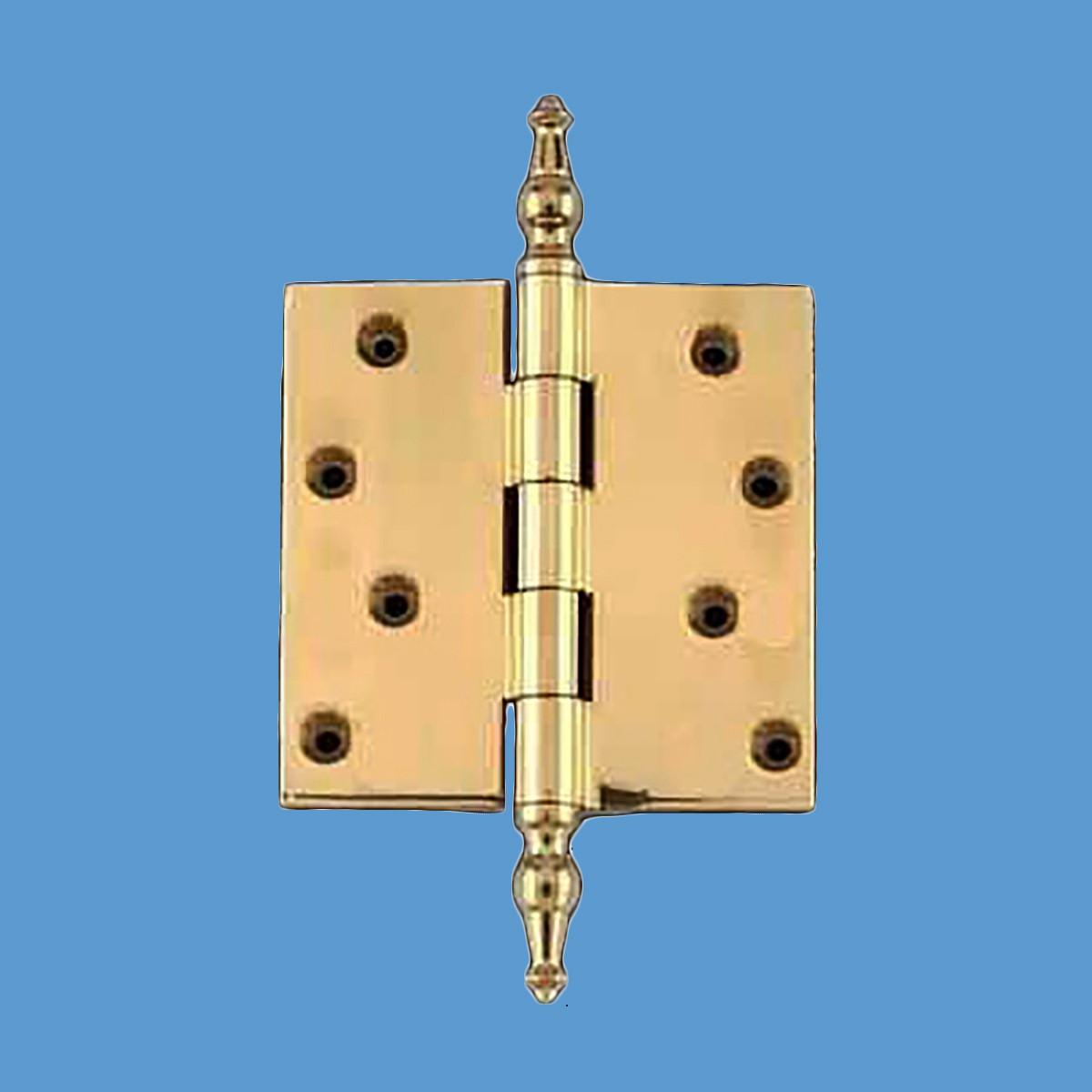 Solid Brass Door Or Cabinet Hinge Temple Tip 4 Quot