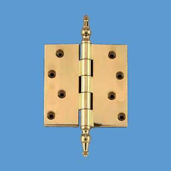 <PRE>Solid Brass Door or Cabinet Hinge Temple Tip 4inch </PRE>zoom2