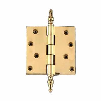 Solid Brass Door or Cabinet Hinge Temple Tip 4