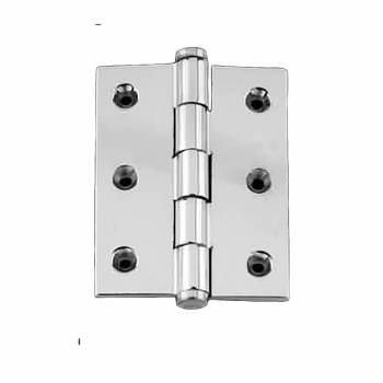 Cabinet Hinge Chrome Solisd Coin Tip 2