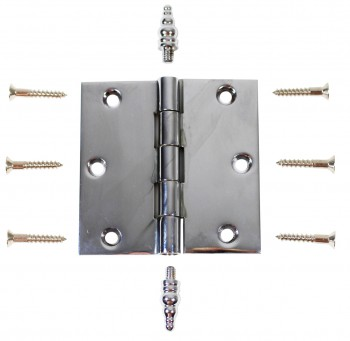 <PRE>Chrome Solid Brass Cabinet Hinge Decor Tip 3inch </PRE>zoom3